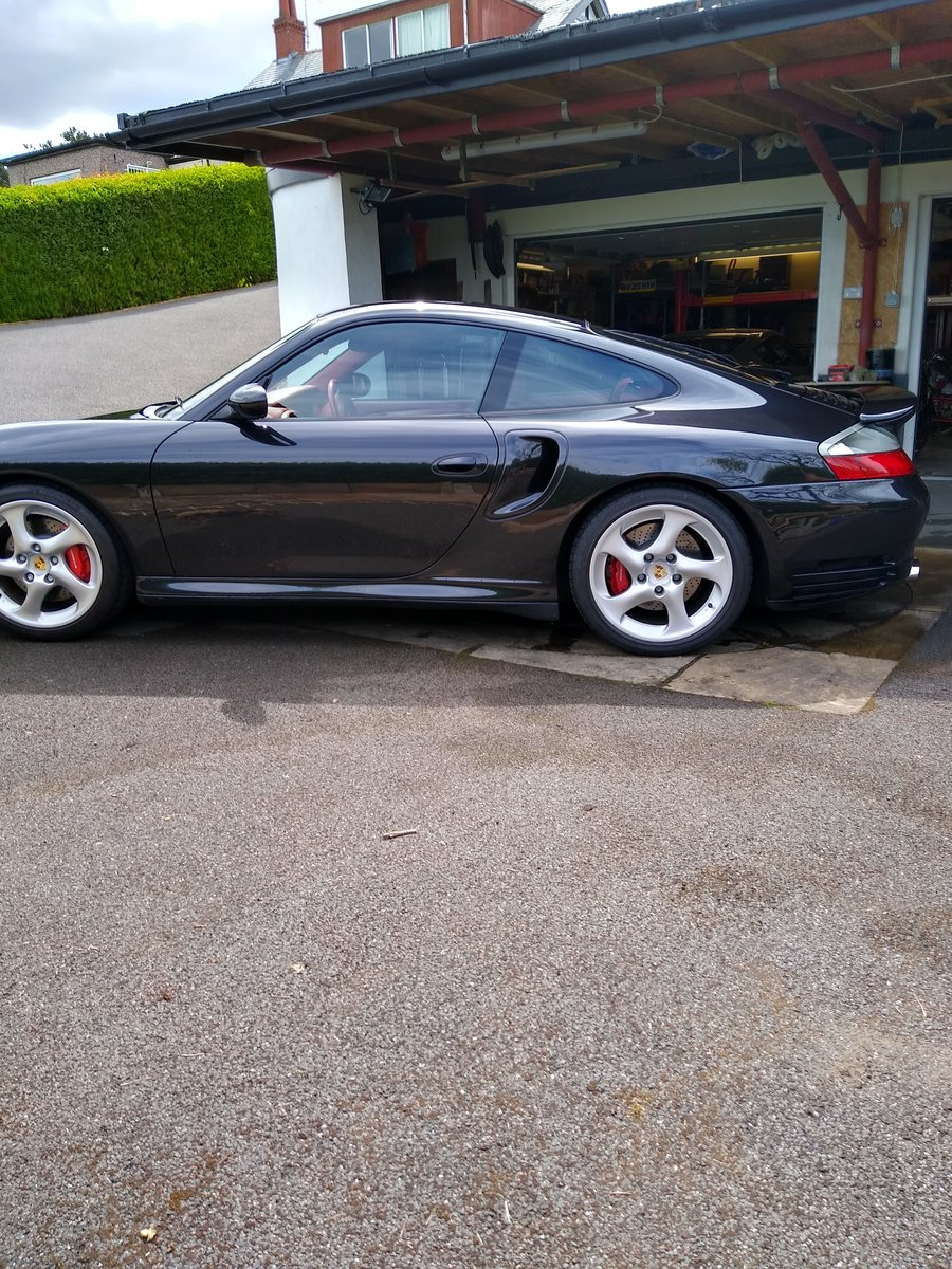 2002 Classic PORSCHE 996 TURBO Tiptronic For Sale (picture 1 of 6)