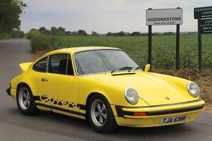 Porsche 911S 2.7, 1977. 47,000 miles (75k km). Yellow For Sale