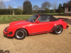 1985 Porsche 911 Classic 3.2 Cabriolet Very Good