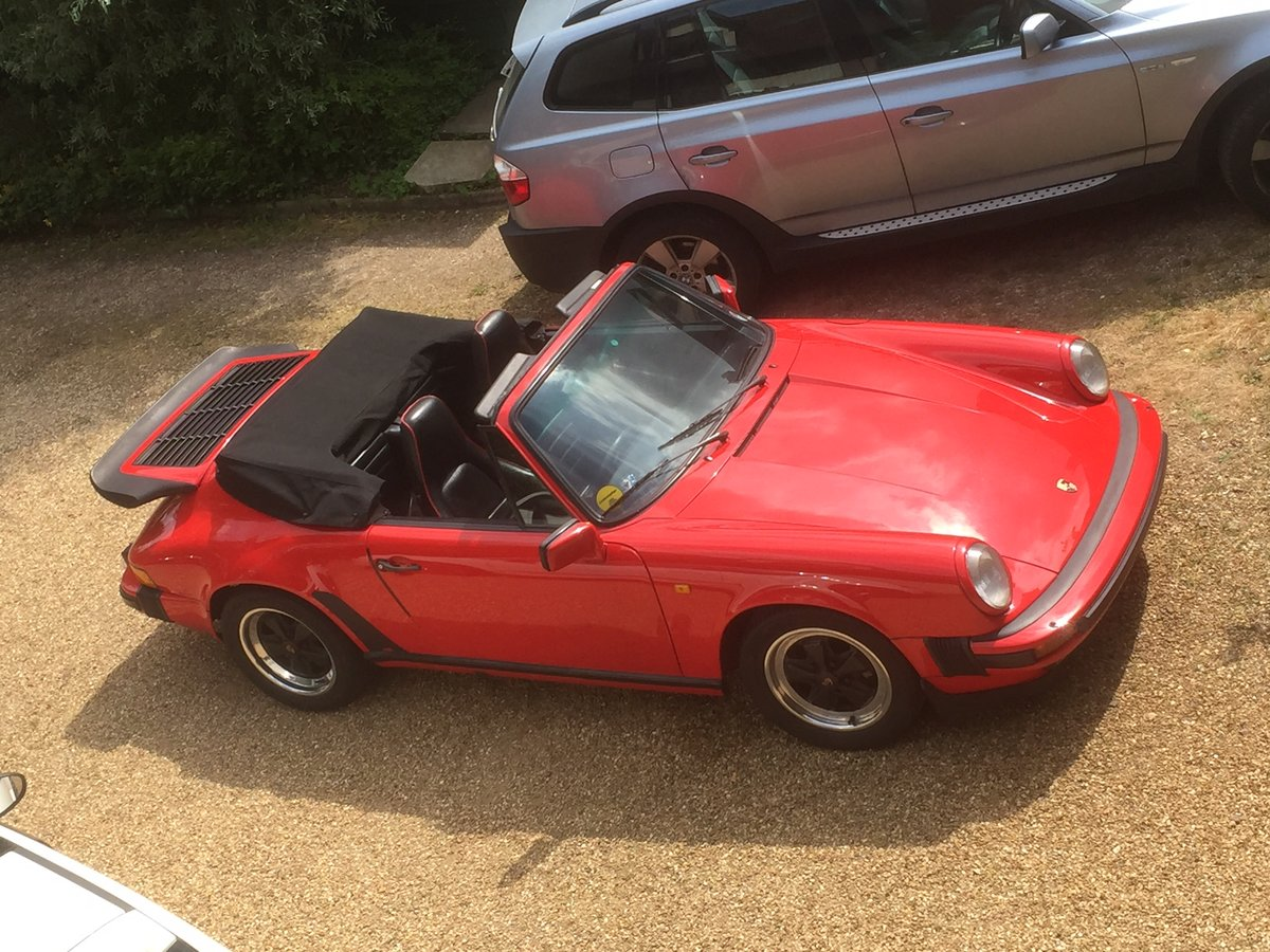 1985 Porsche 911 Classic 3.2 Cabriolet Very Good  For Sale (picture 5 of 6)