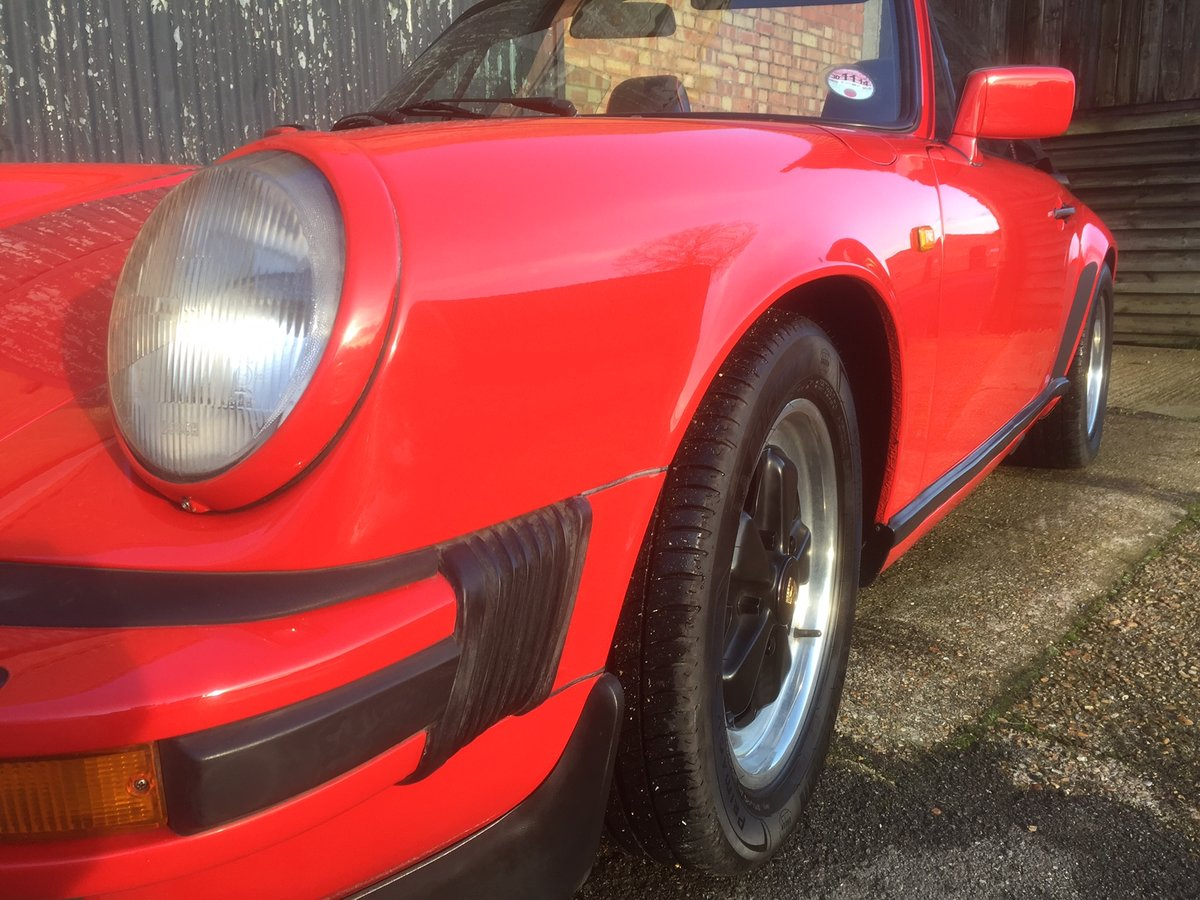 1985 Porsche 911 Classic 3.2 Cabriolet Very Good  For Sale (picture 6 of 6)