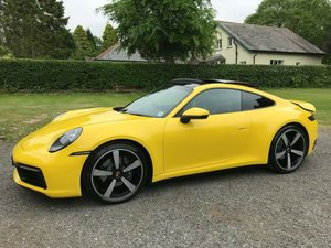 Picture of 2019 PORSCHE 911 992 CARRERA YELLOW JUST 750 MILES STUNNING! SOLD