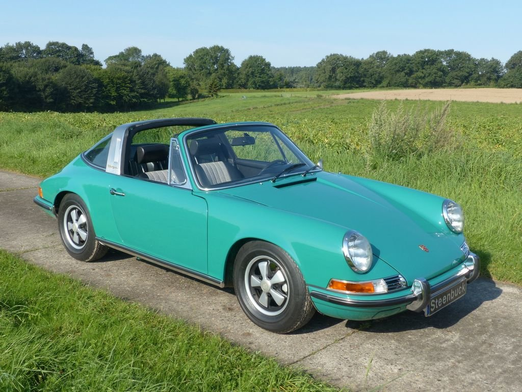 1969 Porsche 911 T 2.2 Targa - perfect quality For Sale (picture 2 of 6)