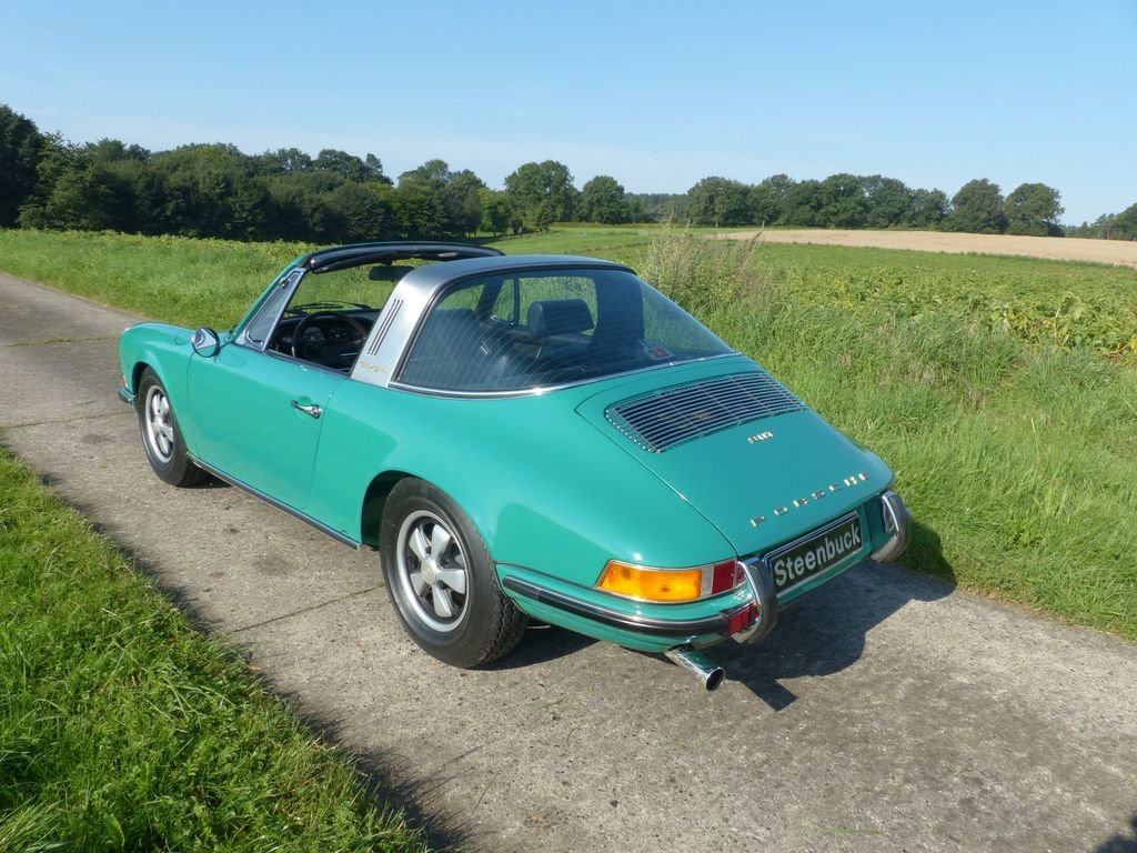 1969 Porsche 911 T 2.2 Targa - perfect quality For Sale (picture 3 of 6)
