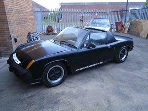 PORSCHE 914 1.8 TARGA (1975) BLACK! 98% RUSTFREE CAR! SOLD