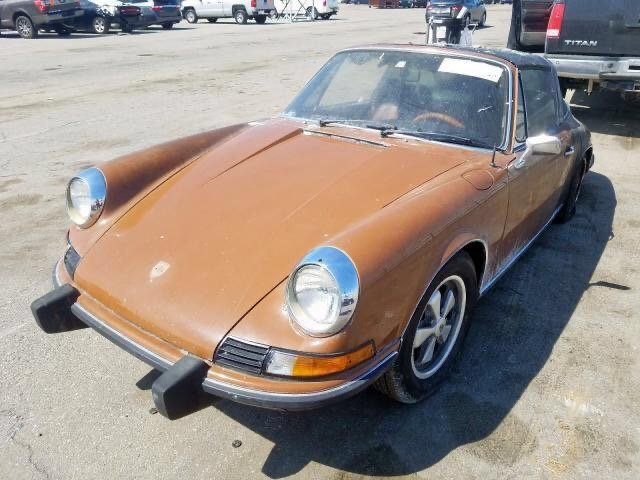PORSCHE 911 TARGA 1972R PROJECT For Sale (picture 1 of 6)