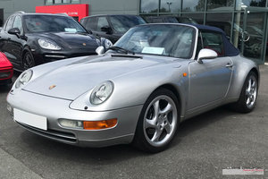 1997 Immaculate Porsche 993 Carrera 2 Tiptronic S cabriolet For Sale
