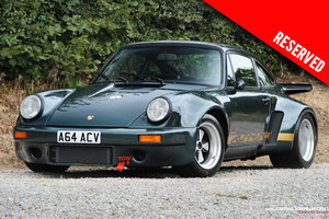 1984 RESERVED - Outrageous Porsche 911 RSR Look LHD coupe SOLD