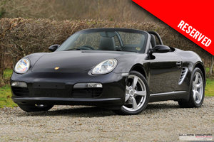 2008 RESERVED - Porsche 987 Boxster manual SOLD