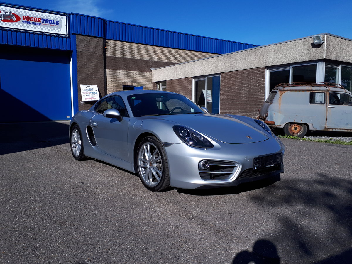 Porsche Cayman (2014) manual 6-gear 275 bhp 5,7 sec. For Sale (picture 1 of 6)