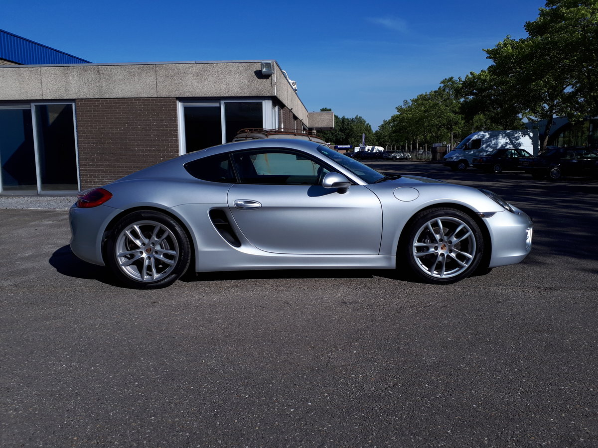 Porsche Cayman (2014) manual 6-gear 275 bhp 5,7 sec. For Sale (picture 2 of 6)
