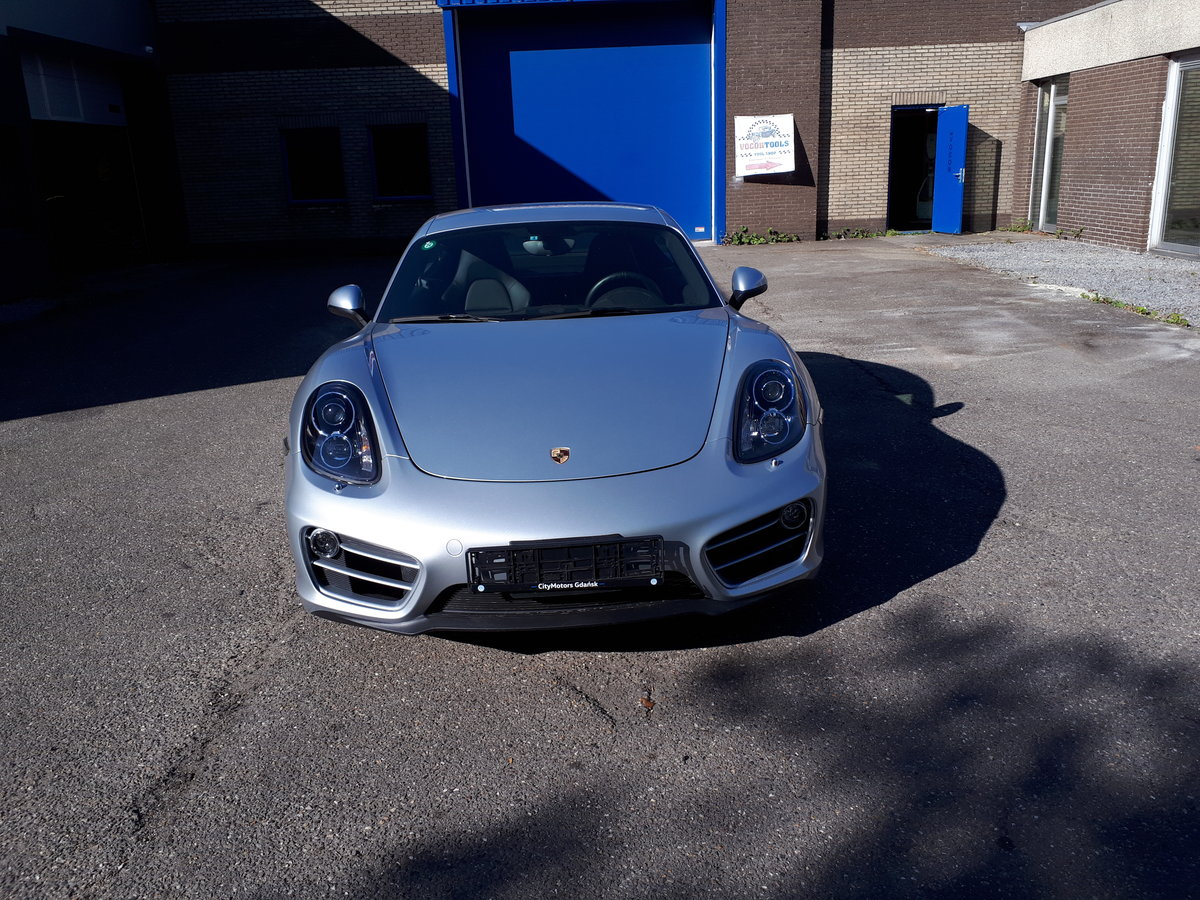 Porsche Cayman (2014) manual 6-gear 275 bhp 5,7 sec. For Sale (picture 6 of 6)