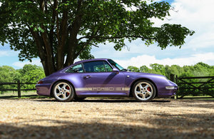 1998 SPECTACULAR - RARE LOW MILEAGE -993 C4S MANUAL COUPE For Sale