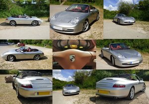 2002 PORSCHE 996 Cabriolet Carrera 4,6 speed manual