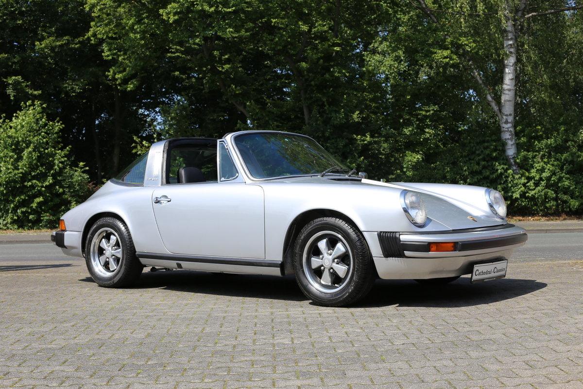 1974 A sympathetically restored Porsche 911 Targa For Sale (picture 1 of 6)