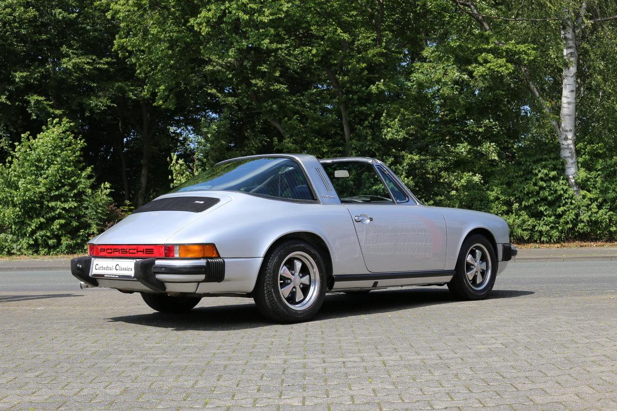 1974 A sympathetically restored Porsche 911 Targa For Sale (picture 3 of 6)