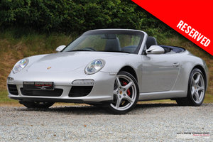 2008 RESERVED - (2009 MY) Porsche 997 Carrera 2 PDK cabriolet SOLD