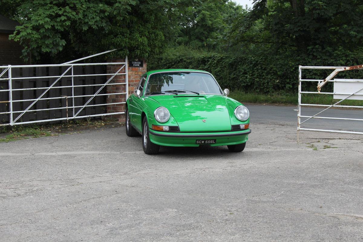 1972 Porsche 911 2.4E - Original RHD, Viper Green, 5 speed  For Sale (picture 1 of 17)