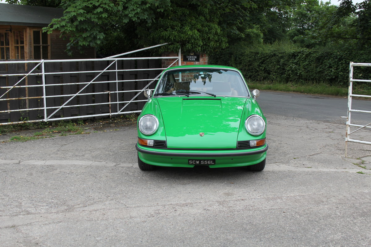 1972 Porsche 911 2.4E - Original RHD, Viper Green, 5 speed  For Sale (picture 2 of 17)