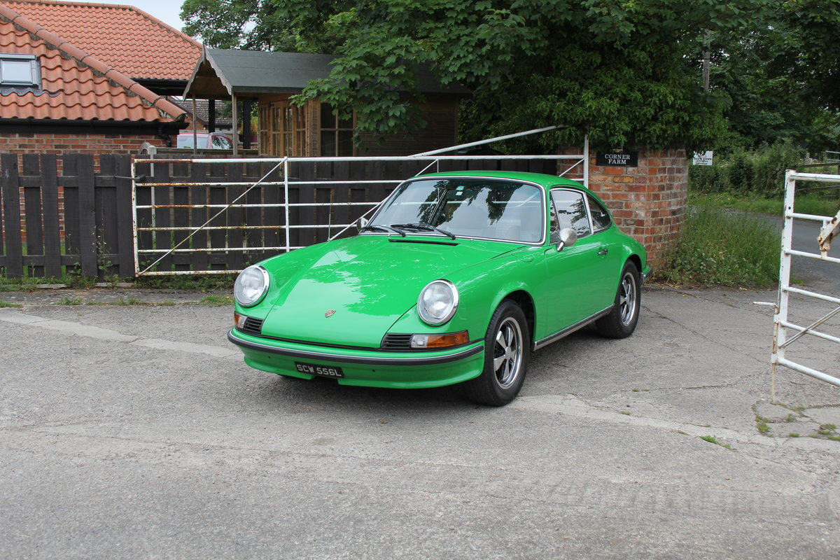 1972 Porsche 911 2.4E - Original RHD, Viper Green, 5 speed  For Sale (picture 3 of 17)