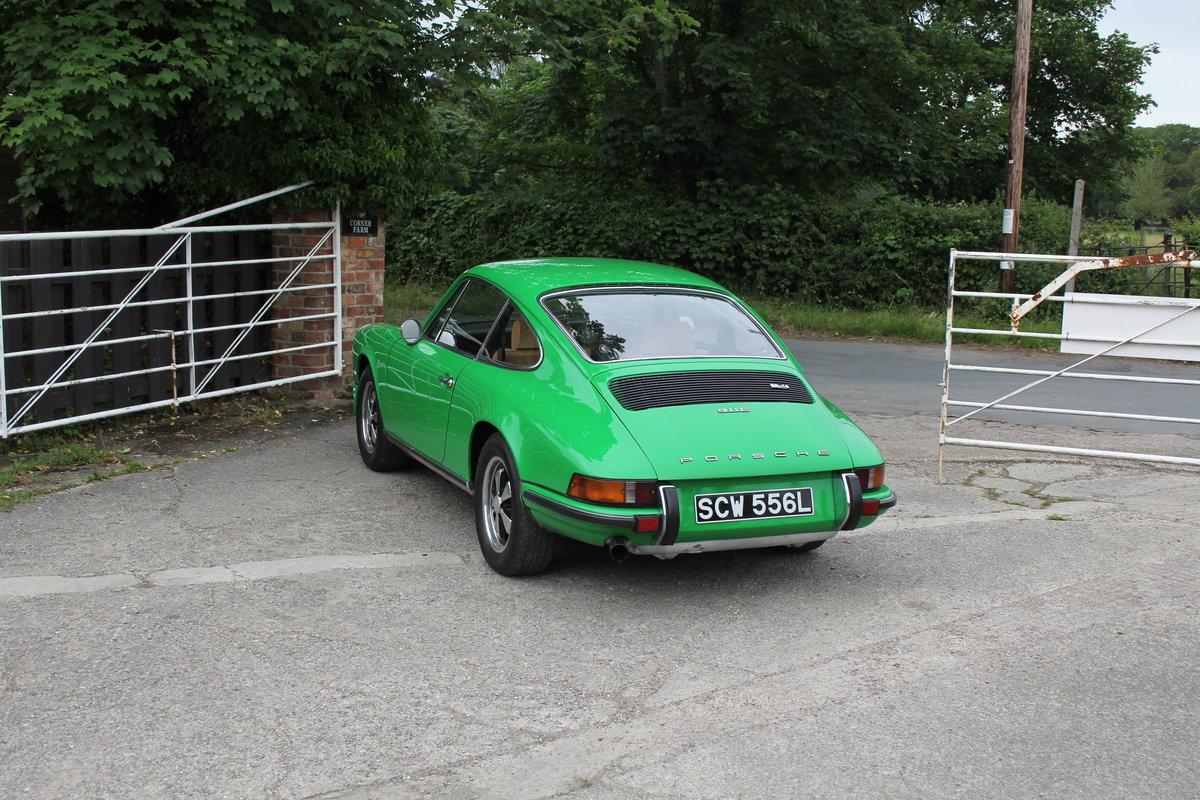1972 Porsche 911 2.4E - Original RHD, Viper Green, 5 speed  For Sale (picture 4 of 17)