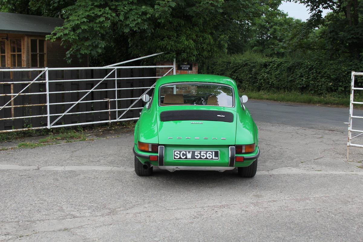 1972 Porsche 911 2.4E - Original RHD, Viper Green, 5 speed  For Sale (picture 5 of 17)