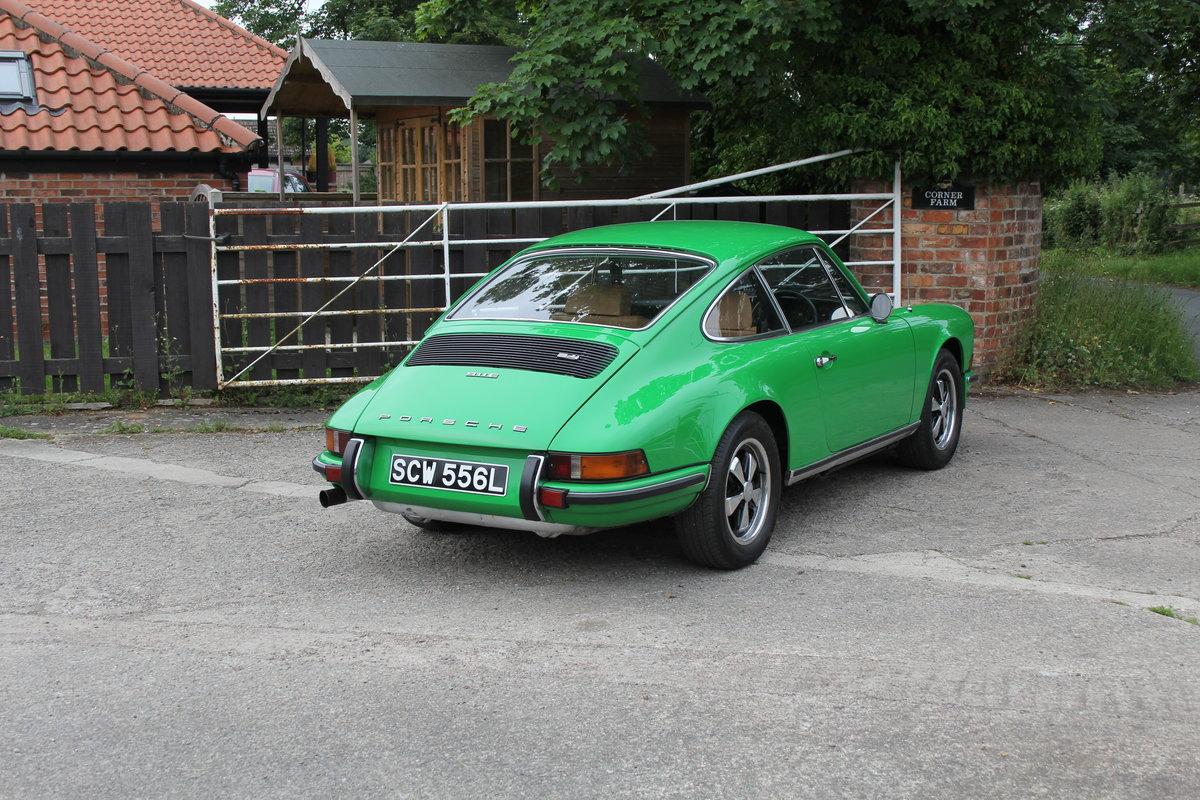 1972 Porsche 911 2.4E - Original RHD, Viper Green, 5 speed  For Sale (picture 6 of 17)
