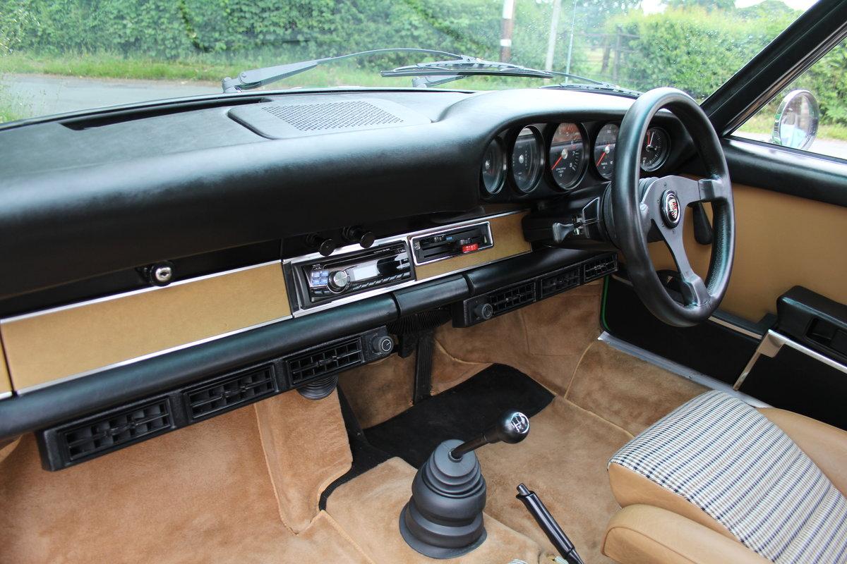1972 Porsche 911 2.4E - Original RHD, Viper Green, 5 speed  For Sale (picture 10 of 17)