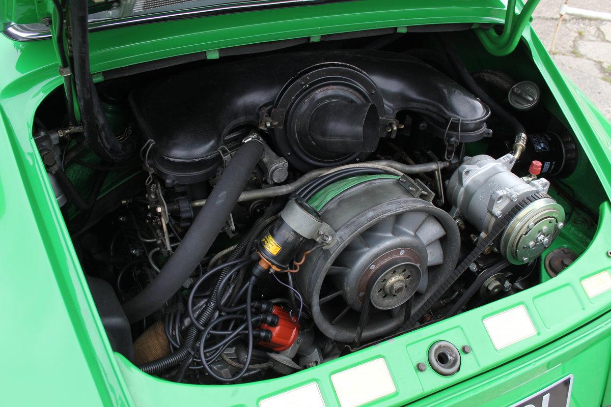 1972 Porsche 911 2.4E - Original RHD, Viper Green, 5 speed  For Sale (picture 17 of 17)