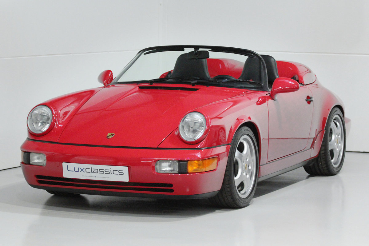 1994 PORSCHE 964 SPEEDSTER LHD WITH GREAT PROVENANCE For Sale (picture 1 of 6)