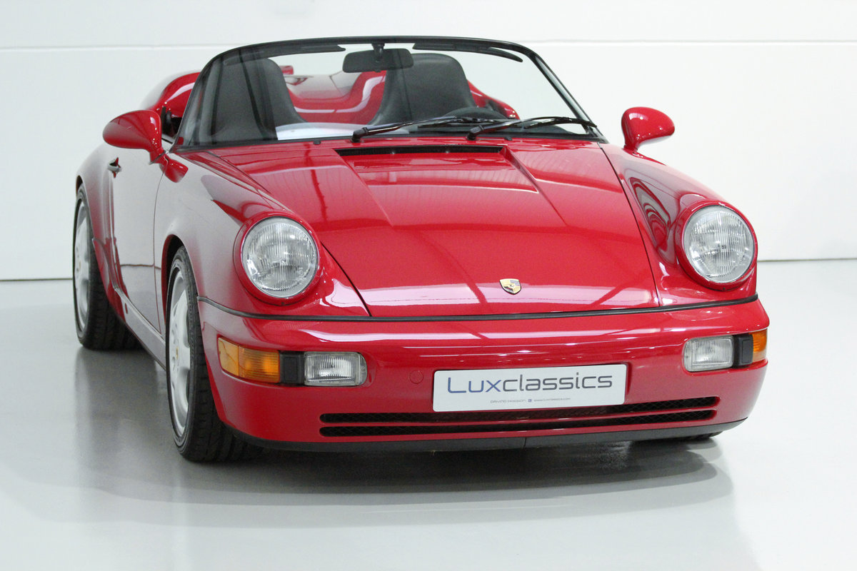 1994 PORSCHE 964 SPEEDSTER LHD WITH GREAT PROVENANCE For Sale (picture 2 of 6)