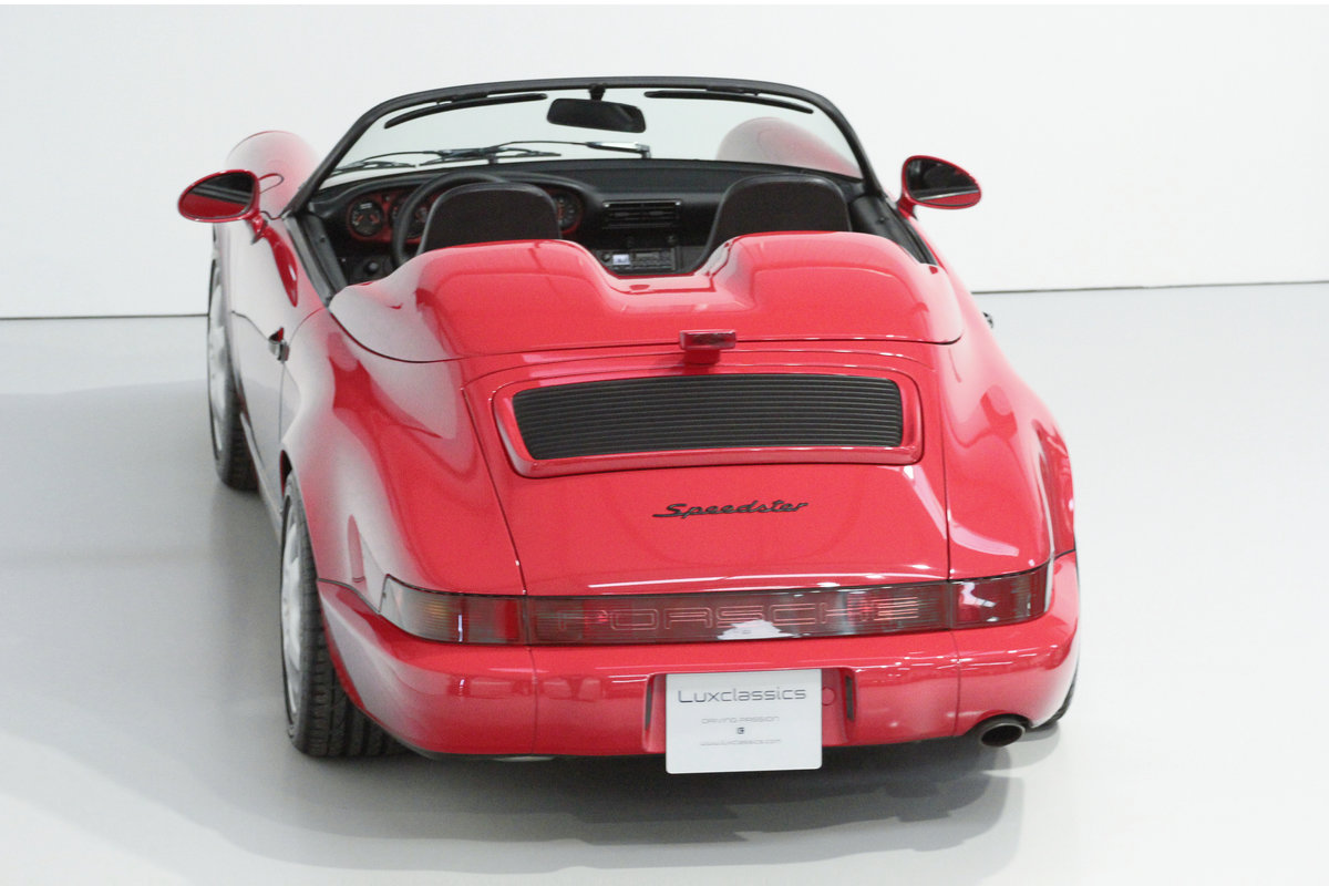 1994 PORSCHE 964 SPEEDSTER LHD WITH GREAT PROVENANCE For Sale (picture 3 of 6)