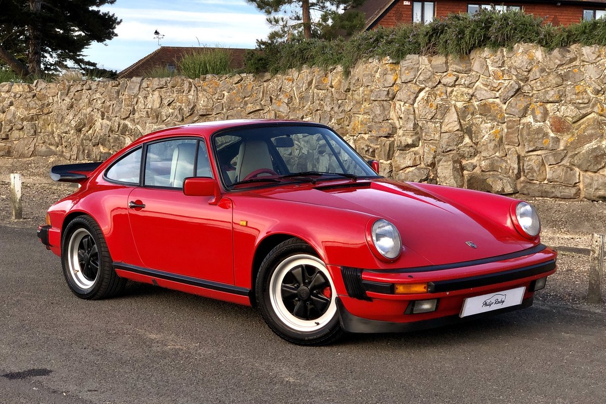 1985 Porsche 911 Carrera 3.2. Great condition and history For Sale (picture 1 of 6)