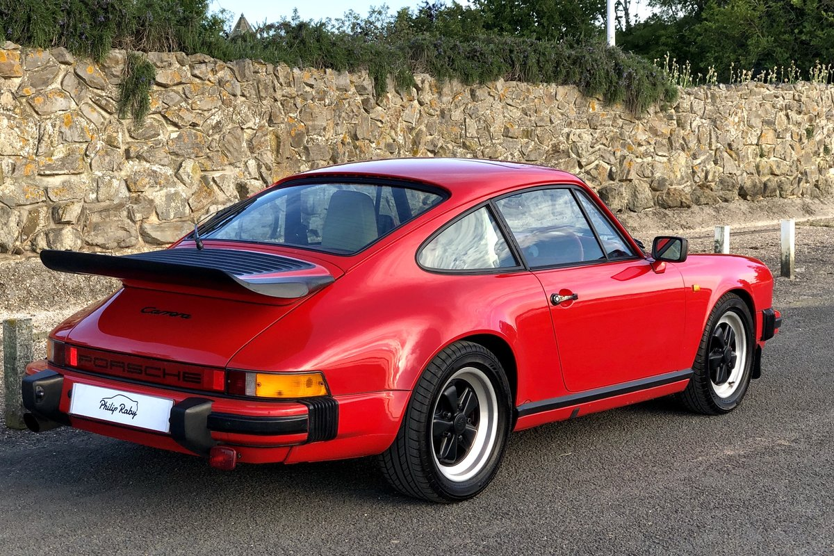 1985 Porsche 911 Carrera 3.2. Great condition and history For Sale (picture 2 of 6)