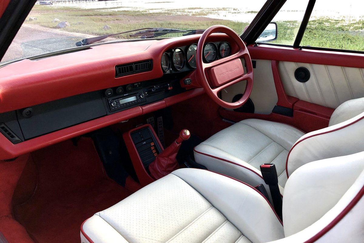 1985 Porsche 911 Carrera 3.2. Great condition and history For Sale (picture 5 of 6)