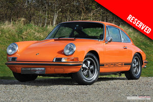 1970 RESERVED - Porsche 911 T 2.2 LHD coupe For Sale