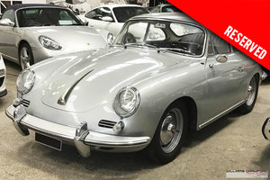 1963 RESERVED - Porsche 356 B T6 1600 S LHD coupe by Karmann  For Sale