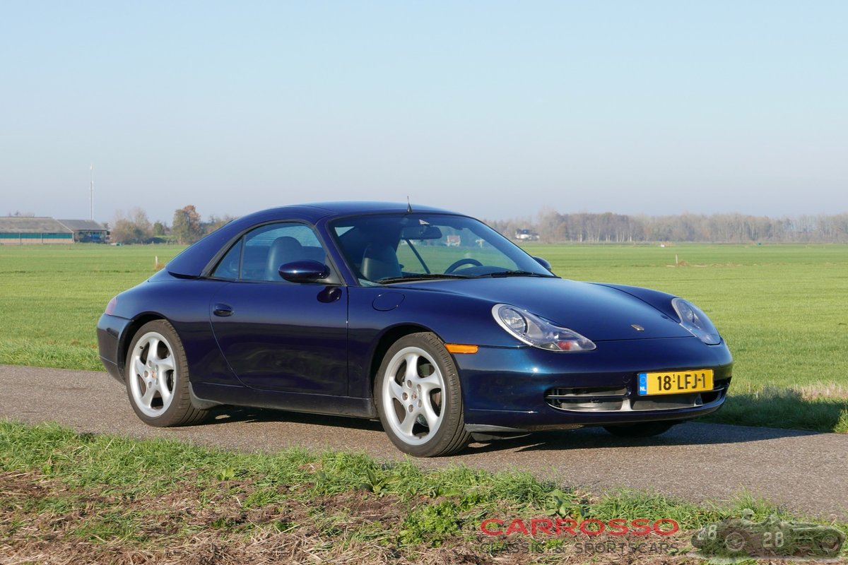 1998 Porsche Carrera Convertible (996) in good condition For Sale (picture 1 of 6)
