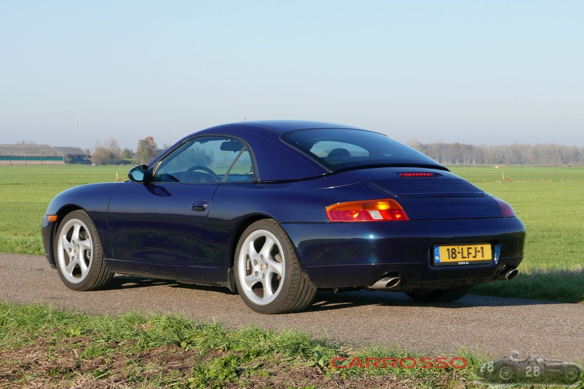 1998 Porsche Carrera Convertible (996) in good condition For Sale (picture 2 of 6)