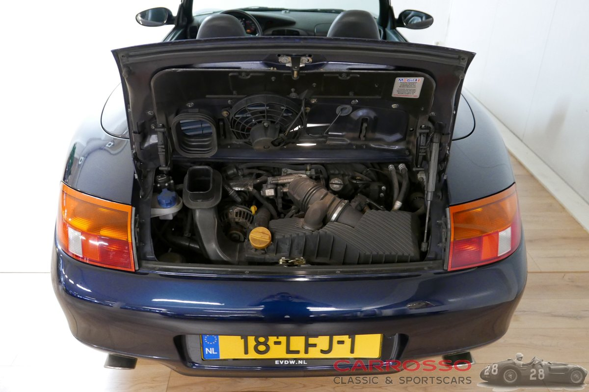 1998 Porsche Carrera Convertible (996) in good condition For Sale (picture 5 of 6)