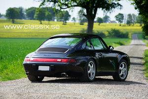 1997 Porsche 993 Carrera black/black LHD