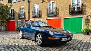 1993 Porsche 968 Coupe 3.0, ultra low mileage