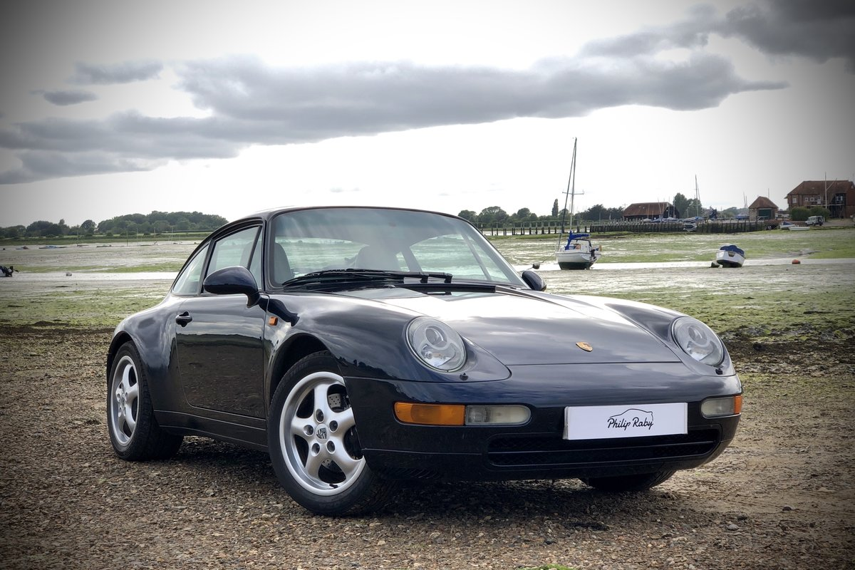 1994 Porsche 993 Carrera Tiptronic. Low miles, superb condition SOLD (picture 1 of 6)