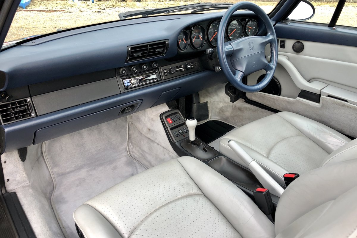 1994 Porsche 993 Carrera Tiptronic. Low miles, superb condition SOLD (picture 6 of 6)