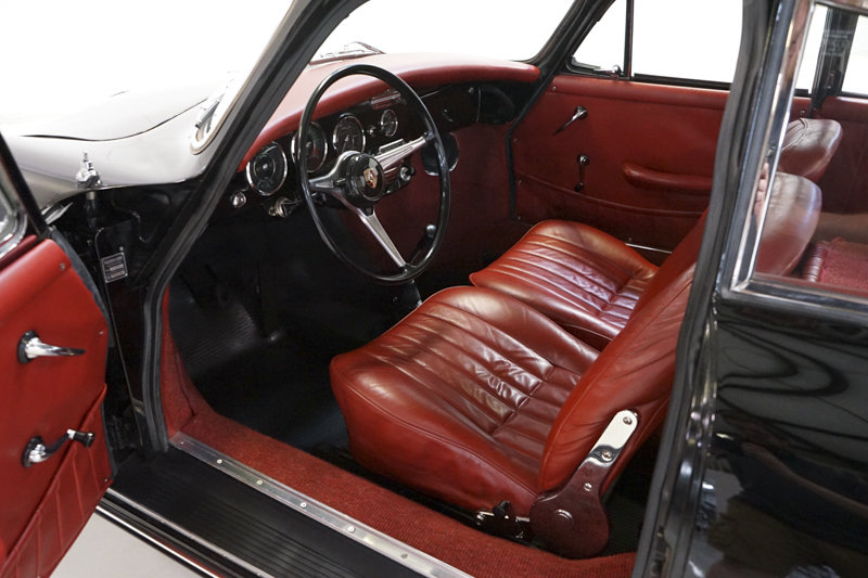 1964 Porsche 356SC Coupe by Karmann SOLD (picture 3 of 6)