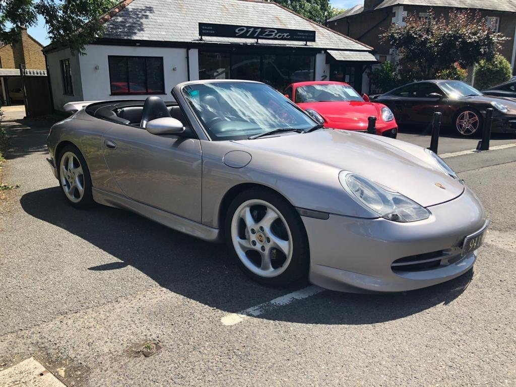 2001 PORSCHE 911 (996) 3.4 CARRERA 4 CONVERTIBLE FACTORY AEROKIT  For Sale (picture 1 of 6)