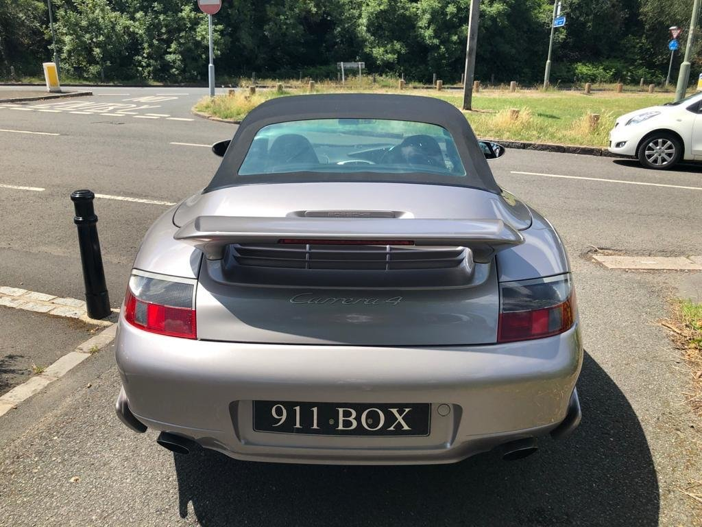 2001 PORSCHE 911 (996) 3.4 CARRERA 4 CONVERTIBLE FACTORY AEROKIT  For Sale (picture 6 of 6)