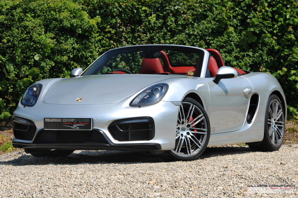 2015 Manual Porsche 981 Boxster GTS For Sale (picture 1 of 6)