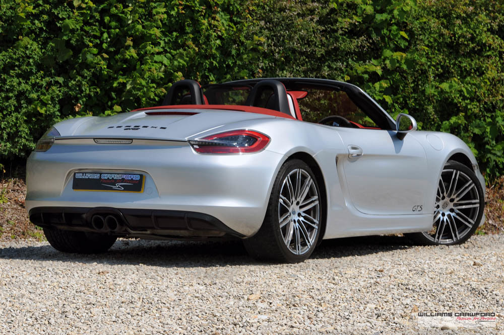 2015 Manual Porsche 981 Boxster GTS For Sale (picture 2 of 6)