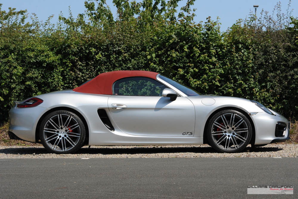 2015 Manual Porsche 981 Boxster GTS For Sale (picture 3 of 6)